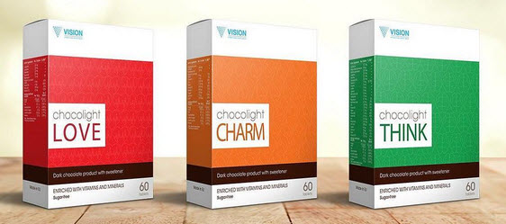 all chocolight vision new smart food