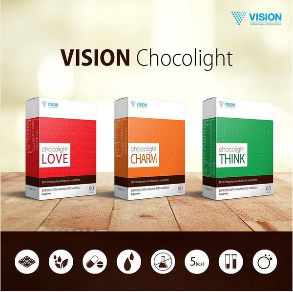 chocolight by vision