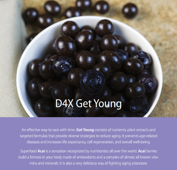 D4X Get Young Vision