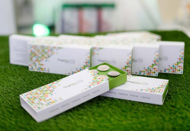 OrgaNice Tea Capsules Vision