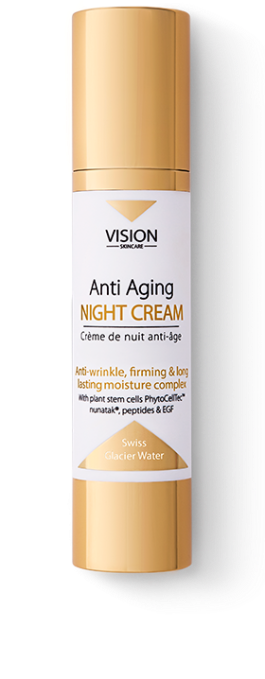 vision-skincare-night-cream-anti-aging-swiss-glacier-water